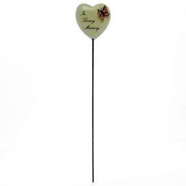 6cm+POLYRESIN+HEART+ON+STICK+%2D+IN+LOVING+MEMORY