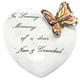 8cm+POLYRESIN+HEART+%2D+IN+LOVING+MEMORY+OF+A+DEAR+NAN+AND+GRANDAD
