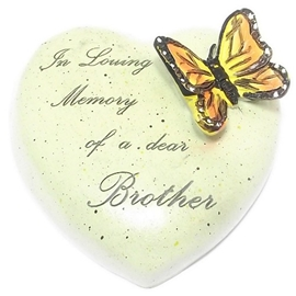 8cm+POLYRESIN+HEART+%2D+IN+LOVING+MEMORY+OF+A+DEAR+BROTHER