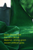 Artificial Grass Matting 6ft X 3ft .  BULK OFFER 15 MATS